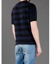 Acne | Blue Dalton T-Shirt for Men | Lyst