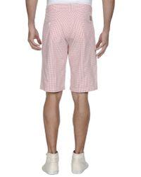 Carhartt Pink Bermuda Shorts for men