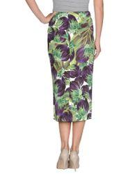 Dolce & Gabbana Multicolor 34 Length Skirt