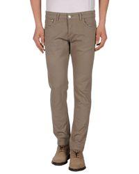 Entre Amis - Natural Casual Pants for Men - Lyst
