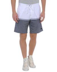 Freshjive Gray Bermuda Shorts for men