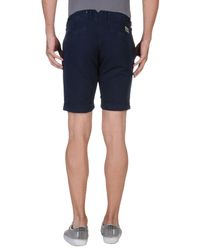 Hackett Blue Bermuda Shorts for men