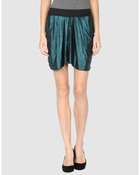 LNA Green Mini Skirt