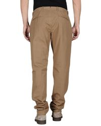 Pence Brown Casual Trouser for men