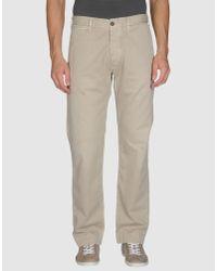 Pence Gray Casual Trouser for men