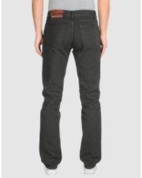 Richard James Brown Green Casual Trouser for men