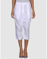 Pauw | White 3/4-Length Short | Lyst