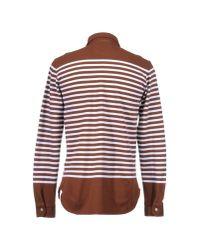 Alain Brown Polo Shirt for men