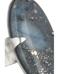 Chan Luu Blue Silver Lapis Lazuli Ring