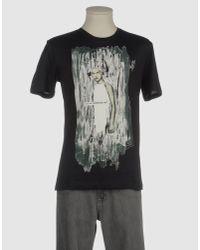 Raf Simons Black Short Sleeve T-Shirt for men