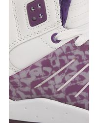 Supra The Lil Wayne Vice Pack Skytop Iii Sneaker in White Purple Drank for men