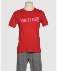 Yell! Industry Pink Short Sleeve T-shirt for men
