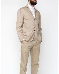 Apolis - Natural Standard Issue Civilian Blazer in Khaki for Men - Lyst
