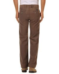 Dockers Brown Casual Trouser for men