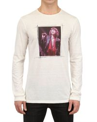 Dolce & Gabbana   White Mick Jagger Cotton Rayon Jersey T-shirt for Men   Lyst