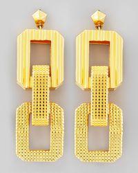Eddie Borgo Metallic Nut Stud Earring