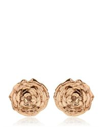 Leivan Kash - Pink Olivia Rose Stud Earrings - Lyst