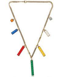 Les Petits Joueurs | Multicolor Rainbow Necklace | Lyst