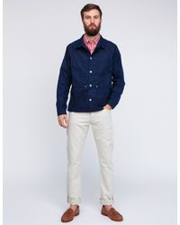 Mark McNairy New Amsterdam | White Short Sleeve Gingham Fun Shirt for Men | Lyst