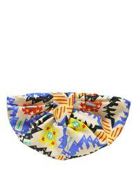 MSGM Multicolor Printed Cotton Ottoman Turban for men