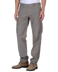 Roy Rogers Gray Casual Trouser for men