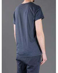 Acne | Blue Standard T-shirt for Men | Lyst