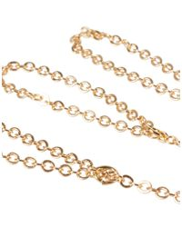 ASOS - Metallic Fine Chain Hand Harness for Men - Lyst