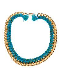 Aurelie Bidermann | Blue 'do Brasil' Necklace | Lyst