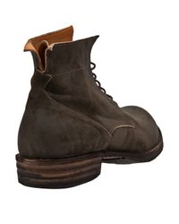 Fiorentini + Baker Green Laceup Ankle Boot for men