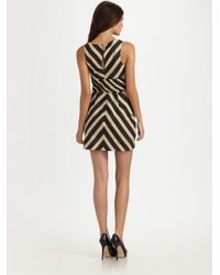 Leifsdottir Brown Macaw Cotton Dress