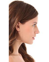 Michael Kors - Pink Pave Bar Post Earrings - Lyst