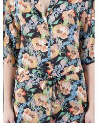Tucker | Multicolor Wide Sleeve Shirtdress | Lyst
