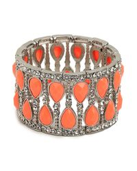 BaubleBar | Metallic Coral Glitz Cuff | Lyst