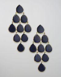 Ippolita | Blue Lapis Cascade Earrings | Lyst