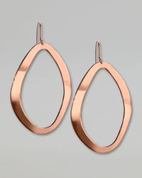 Ippolita | Pink Rose Oval Earrings | Lyst