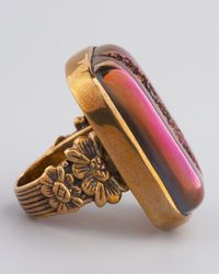 Stephen Dweck - Purple Ruzy Agate Ring for Men - Lyst