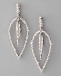 Stephen Webster 3d White Diamond Earrings