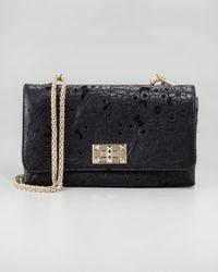 Valentino Black Girello Flap Bag