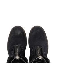 AllSaints - Black Stealth Boot - Lyst