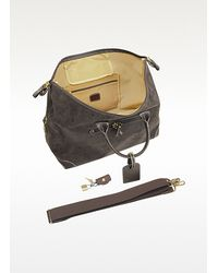 Bric's | Brown Life - Micro-suede Large Holdall Travel Bag for Men | Lyst