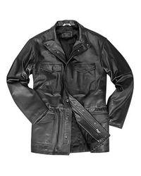 FORZIERI | Men's Black Italian Four-pocket Leather Jacket for Men | Lyst