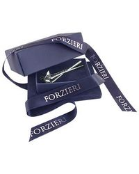 FORZIERI - Metallic Golf Silver Plated Tie Clip for Men - Lyst