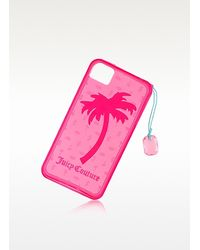 Juicy Couture - Pink Gelli Palm Tree Iphone 44s Case - Lyst