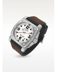 LOCMAN - Teseo Tesei Brown Stingray Automatic Mechanical Date Watch for Men - Lyst