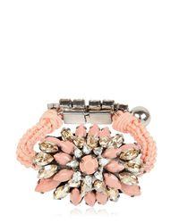 Shourouk - Pink Baraka Sierra Nude Bracelet - Lyst