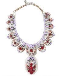 Shourouk   Purple Siam Necklace   Lyst