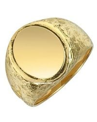 Torrini | Oval 18k Yellow Gold Men's Ring for Men | Lyst