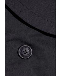 Vivienne Westwood Anglomania - Blue Tempest De Corps Stretch-Cotton Blend Jacket - Lyst