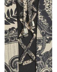 Zimmermann Gray Collision Underwired Printed Swimsuit