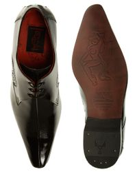 Jeffery West | Black Jeff West Centre Seam Gibson Shoes for Men | Lyst